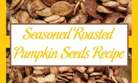 Seasoned Roasted Pumpkin Seeds Recipe