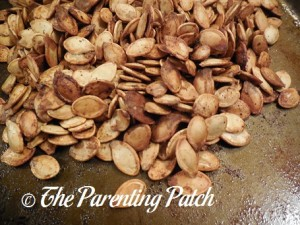 Seasoned Roasted Pumpkin Seeds