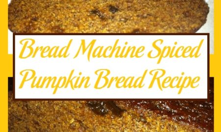Bread Machine Spiced Pumpkin Bread Recipe