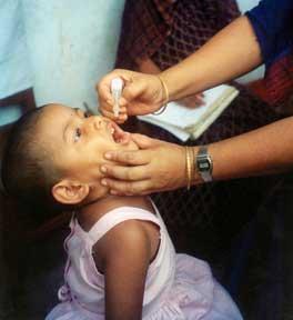 Polio Drops Vaccine