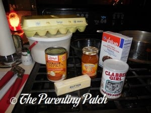 Ingredients for Pumpkin Pudding