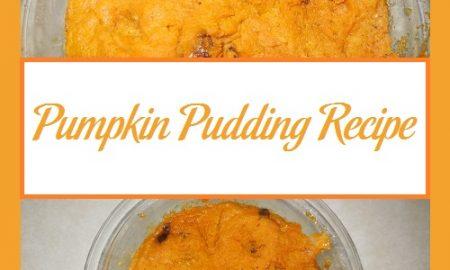 Pumpkin Pudding Recipe