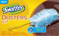 How to make a swiffer duster