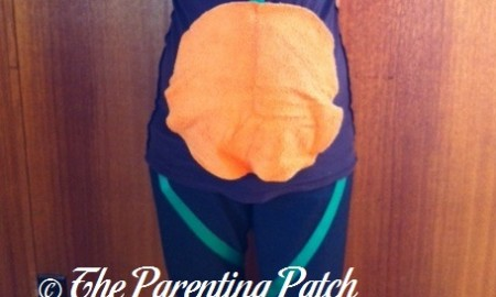 Pregnant Belly Pumpkin Patch Costume