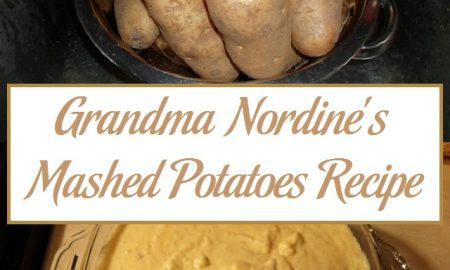 Grandma Nordine's Mashed Potatoes Recipe