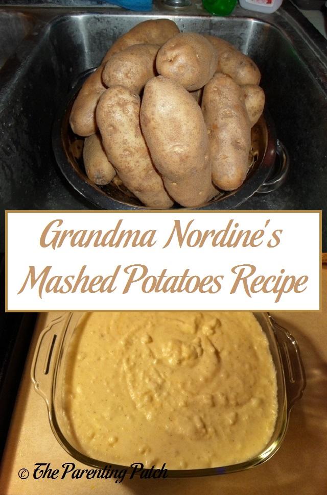 Grandma Nordine's Mashed Potatoes Recipe