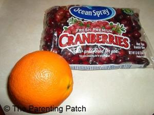 Cranberries and Orange