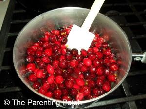Adding the Cranberries