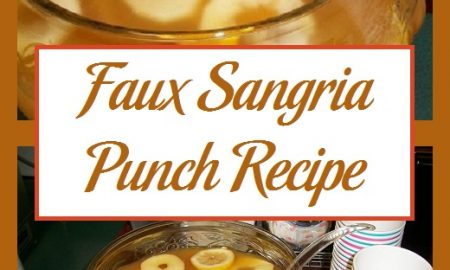 Faux Sangria Punch Recipe