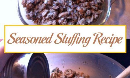 Seasoned Stuffing Recipe