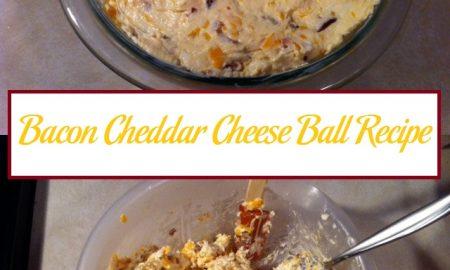 Cheddar Bacon Cheese Ball Recipe