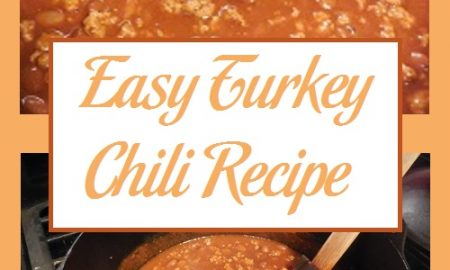 Easy Turkey Chili Recipe