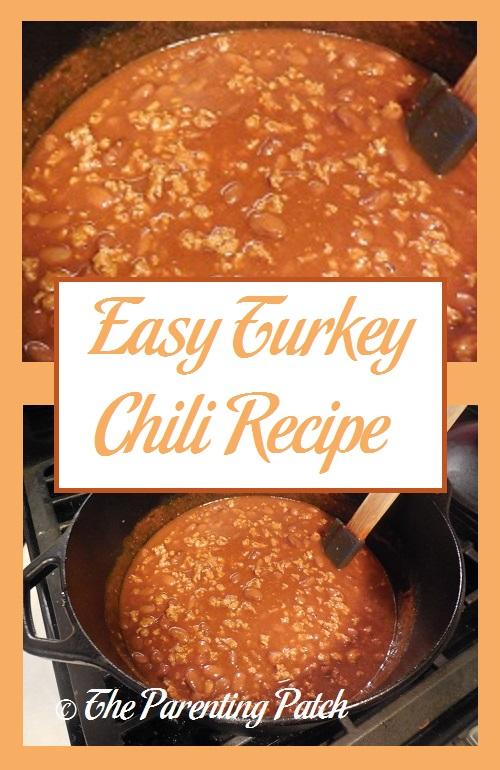 Easy Turkey Chili Recipe