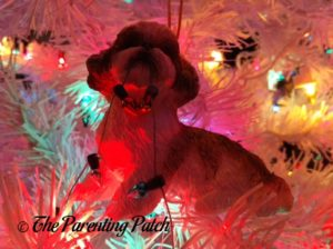 Shih Tzu with Lights Ornament