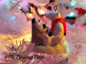 Coca Cola Bear and Penguin Ornament