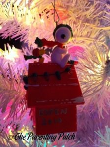 Snoopy and Woodstock Ornament