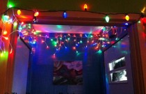 Decorating for the Holidays: Stringing Up the Lights