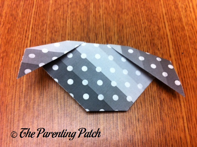 Origami Puppy Step 7