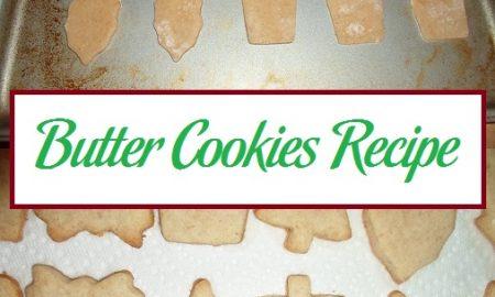 Butter Cookies Recipe