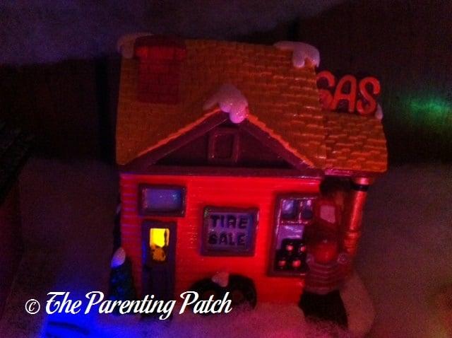 Christmas Gas Station
