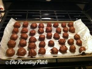 Finished Cake Balls