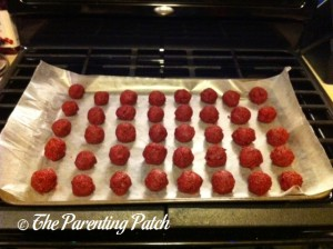 Forming the Cake Balls