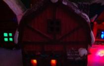 Painted Christmas Houses Volume II: Wordless Wednesday