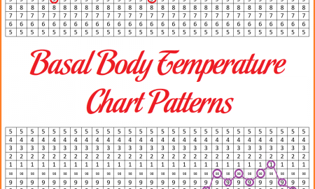 Basal Body Temperature Chart Patterns