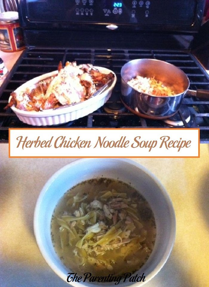 Herbed Chicken Noodle Soup Recipe