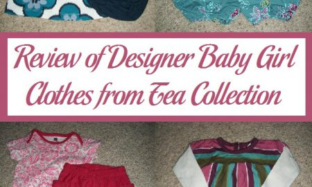 Review of Designer Baby Girl Clothes from Tea Collection