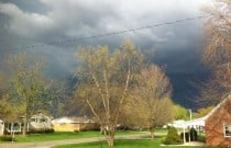 Spring Storms: Wordless Wednesday