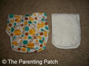 Awesome Blossom Cloth Diaper and Insert