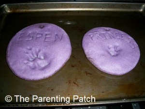 Baked Salt Dough Ornaments
