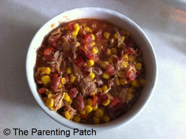 Easy Chicken Chili with Corn