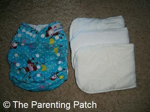 Alva Baby Cloth Diaper and Inserts