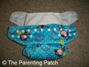 Snaps on Alva Baby Cloth Diaper