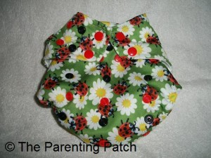 Glow Bug Cloth Diaper