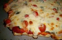Homemade Tomato and Fresh Basil Pizza: Wordless Wednesday