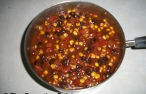 Making Easy Taco Chili: Wordless Wednesday