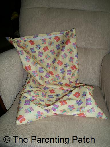 Handmade Cloth Diaper Wet Bag