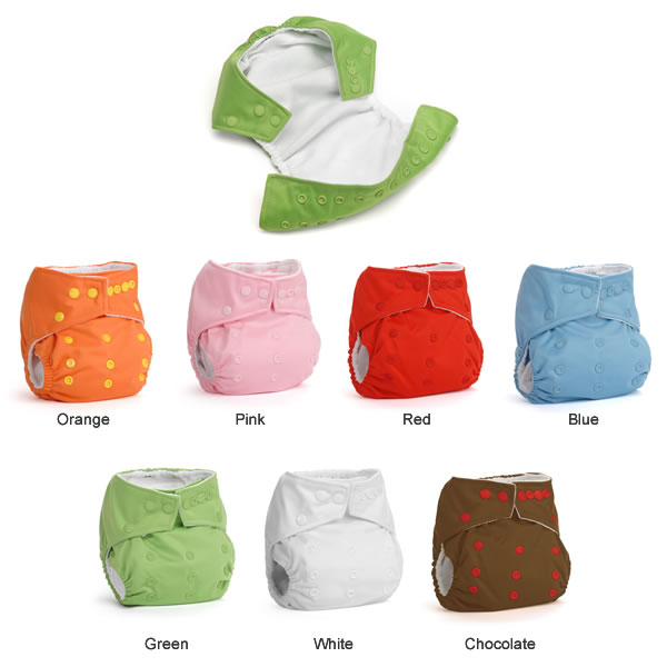 DinkleDooz Cloth Diaper Colors