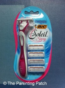 BIC Soleil Savvy Disposable Razor Package