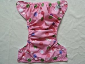 Pink Dot Sunbaby Diaper