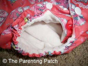 Leg Opening of Sunbaby Diaper