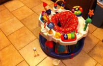 Toys on the Kitchen Floor: Building Baby's Immune System and a Germaphobic Mommy