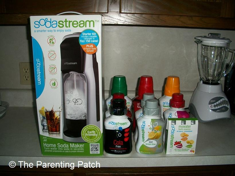 sodastream fountain jet home soda maker and flavors - Soda Maker