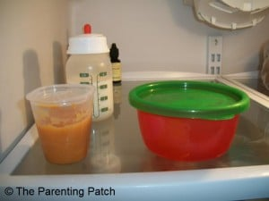 Thawing the Frozen Baby Food