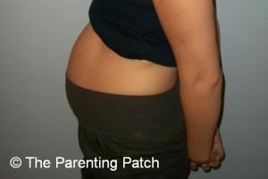 Baby Bump During Week 15 of Pregnancy