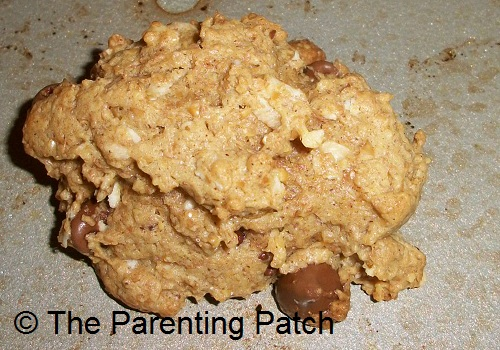 Peanut Butter Chocolate Chip Lactation Cookies