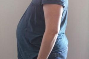 Baby Bump at 32 Weeks